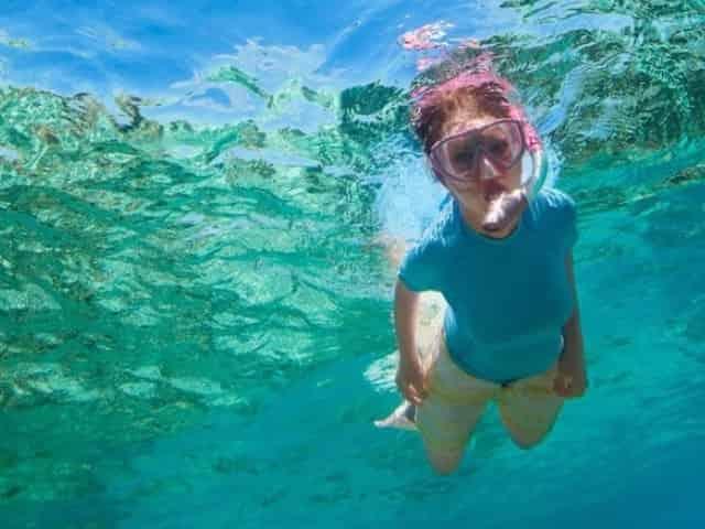 snorkeling in panama city beach