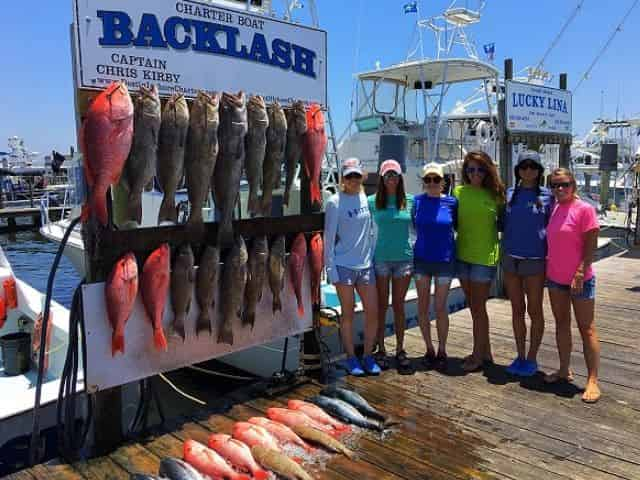 charter boat fishing in destin florida