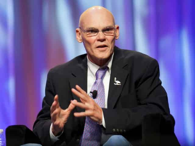James Carville in New Orleans