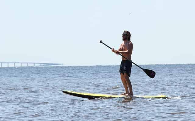 paddleboarding in santa rosa beach