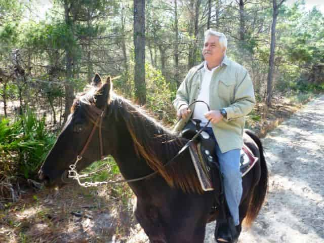 horseback trail rides in destin in winter