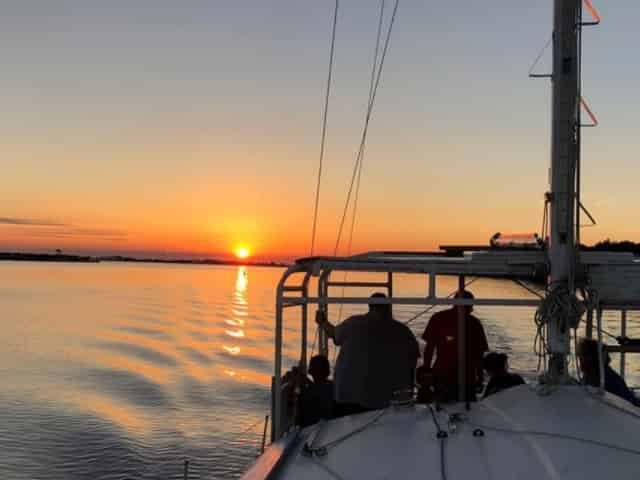 private sunset sail in destin florida