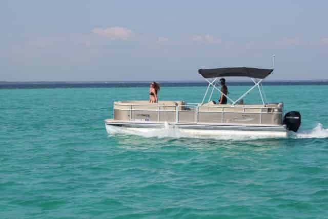 destin, florida, family pontoon rental
