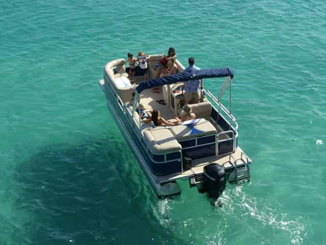 pontoon rentals in destin fl