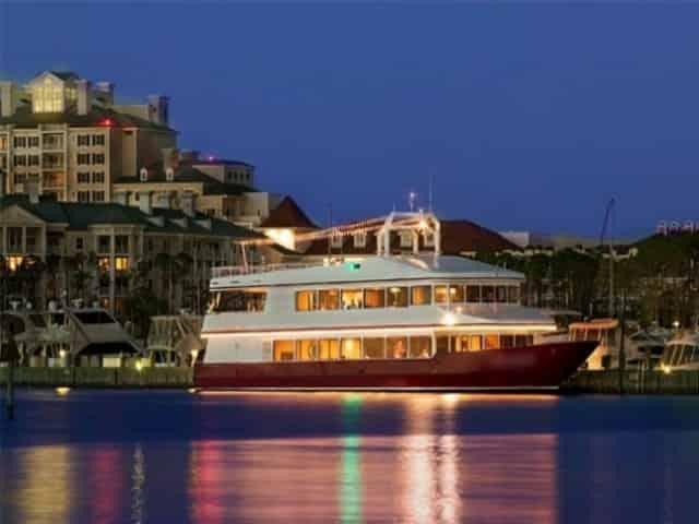 solaris fine dining yacht