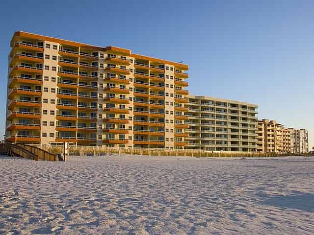 orange beach lodging