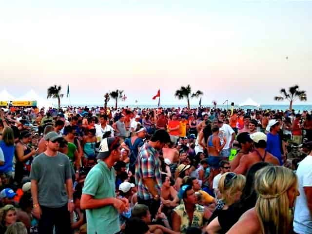 Gulf Shores beach during Hangout Music Festival