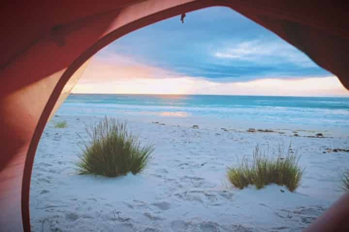 Beach Camping in Panama City Beach, FL