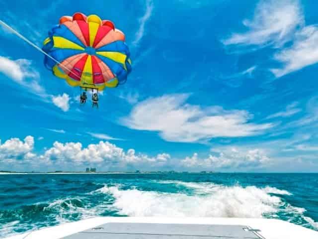 parasailing in destin, florida