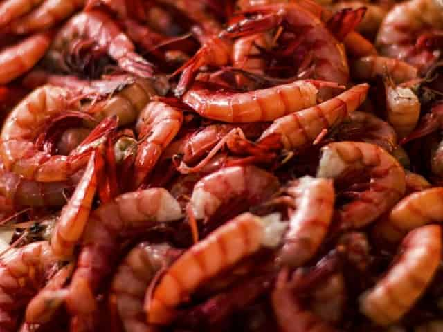 fresh seafood at casino beach bar and grille