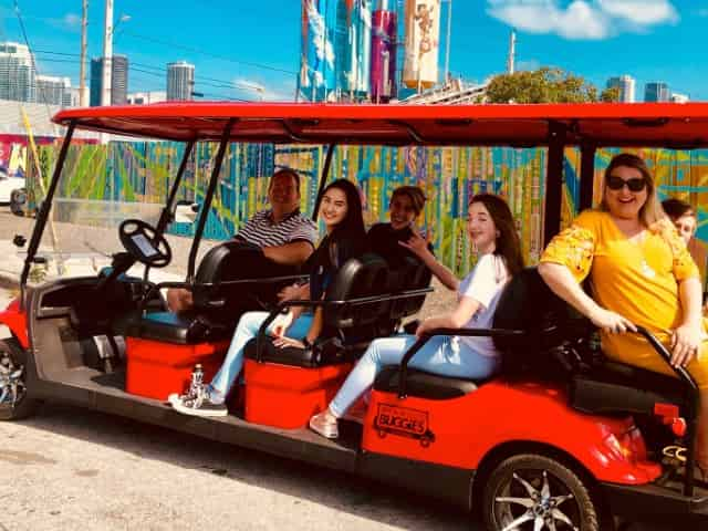 miami city tour by buggie