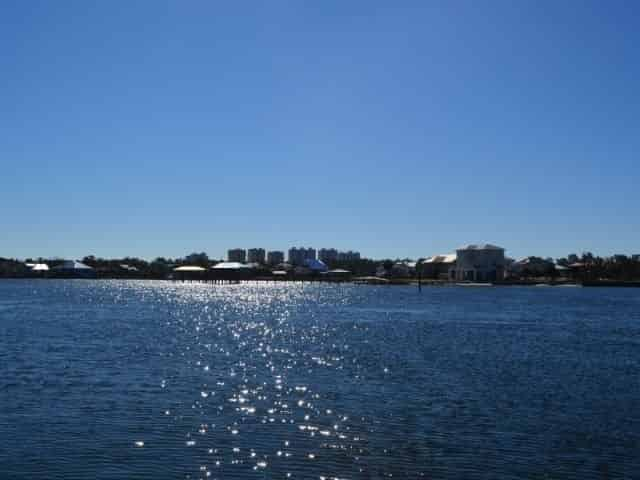 Perdido Key as seen from Big Lagoon State Park in Pensacola