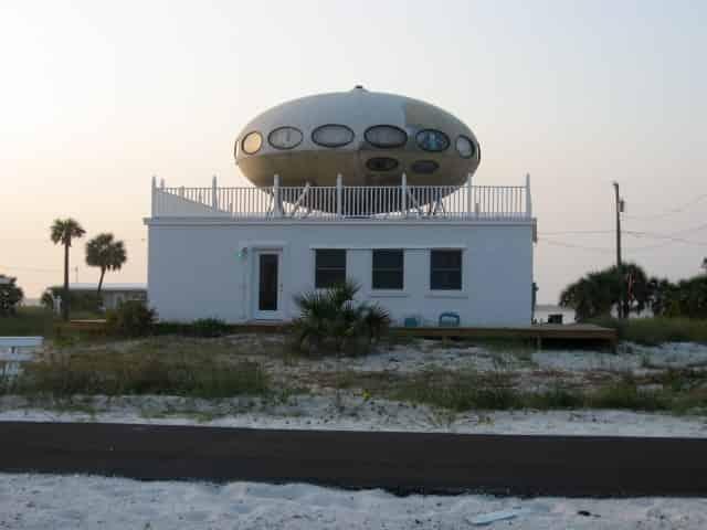 UFO Futuro House in Pensacola, FL