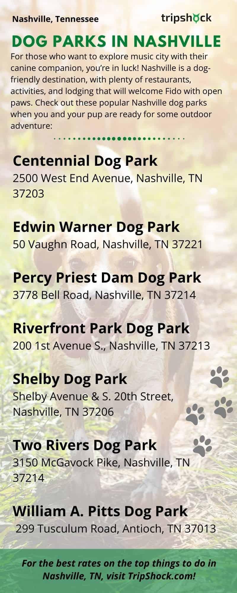 Dog Parks in Nashville, TN
