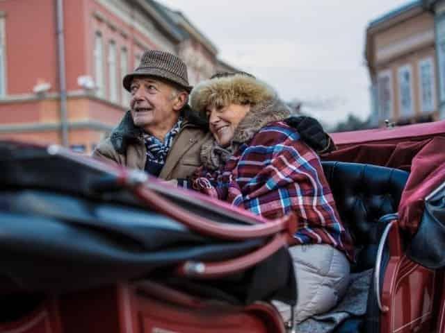 carriage tour through Nashville, TN