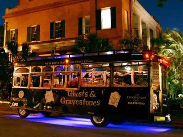 Ghost Tour in Savannah, Georgia