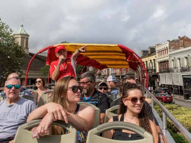 budget sightseeing on the new orleans hop on hop off bus tour