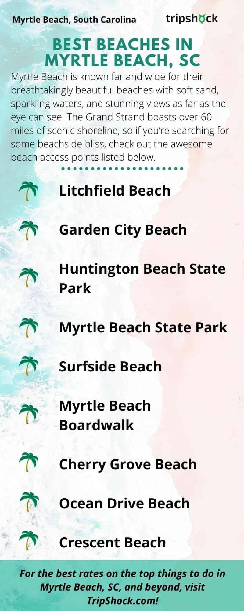 Best Beaches in Myrtle Beach, SC