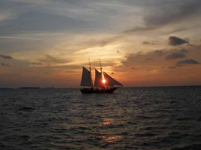 sunset sail catching the beautiful key west sunset