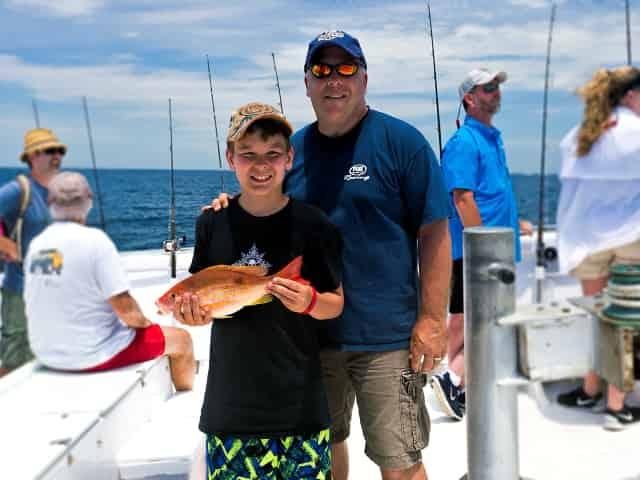 family fishing trip in destin fl