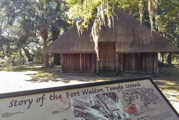 fort walton indian temple mound