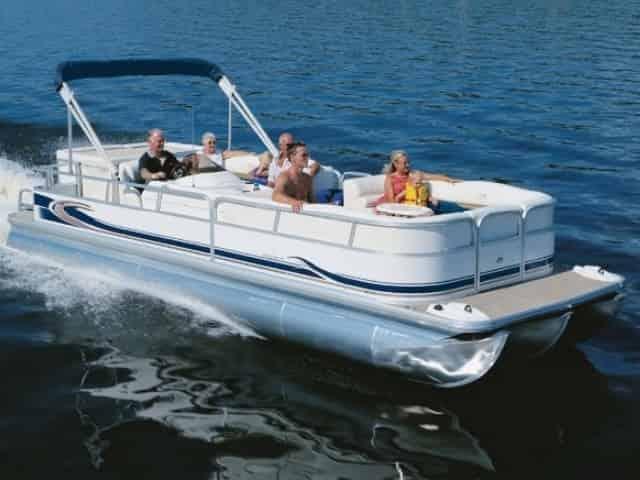 Florida Keys pontoon boat rental