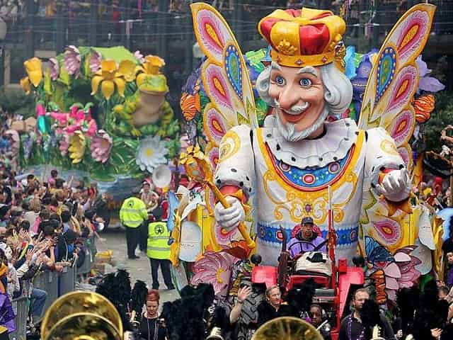 mardi gras parade in new orleans