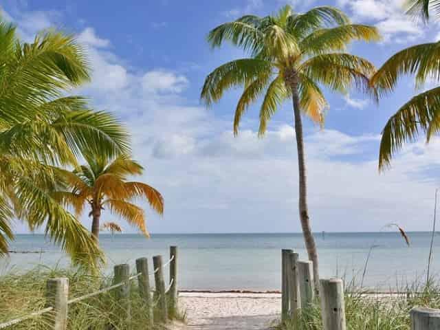 smathers beach in key west fl