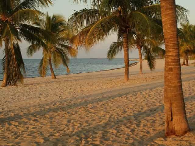 far beach in key largo florida