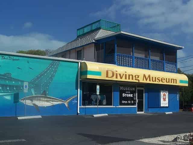 history of diving museum in islamorada