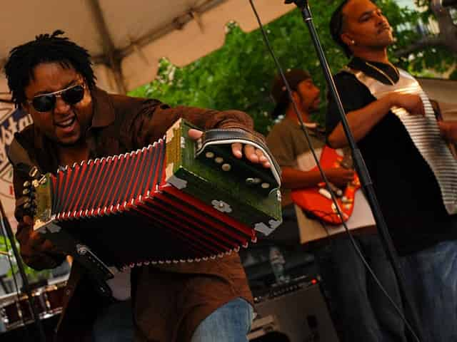 zydeco musicians
