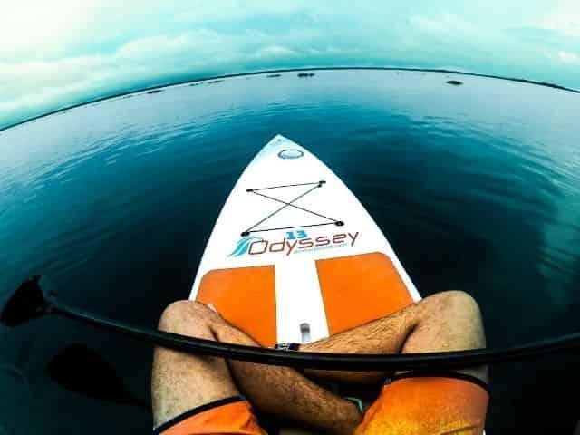 paddleboarding in Ocean Springs