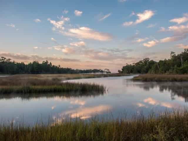 Davis Bayou in Ocean Springs, MS