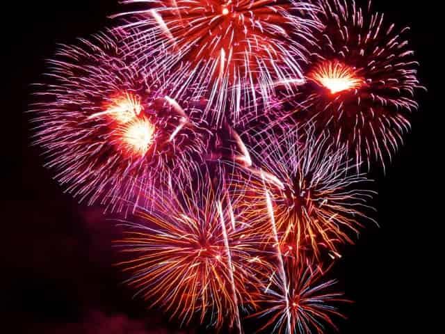 Gulf Shores, AL, Fourth of July Fireworks