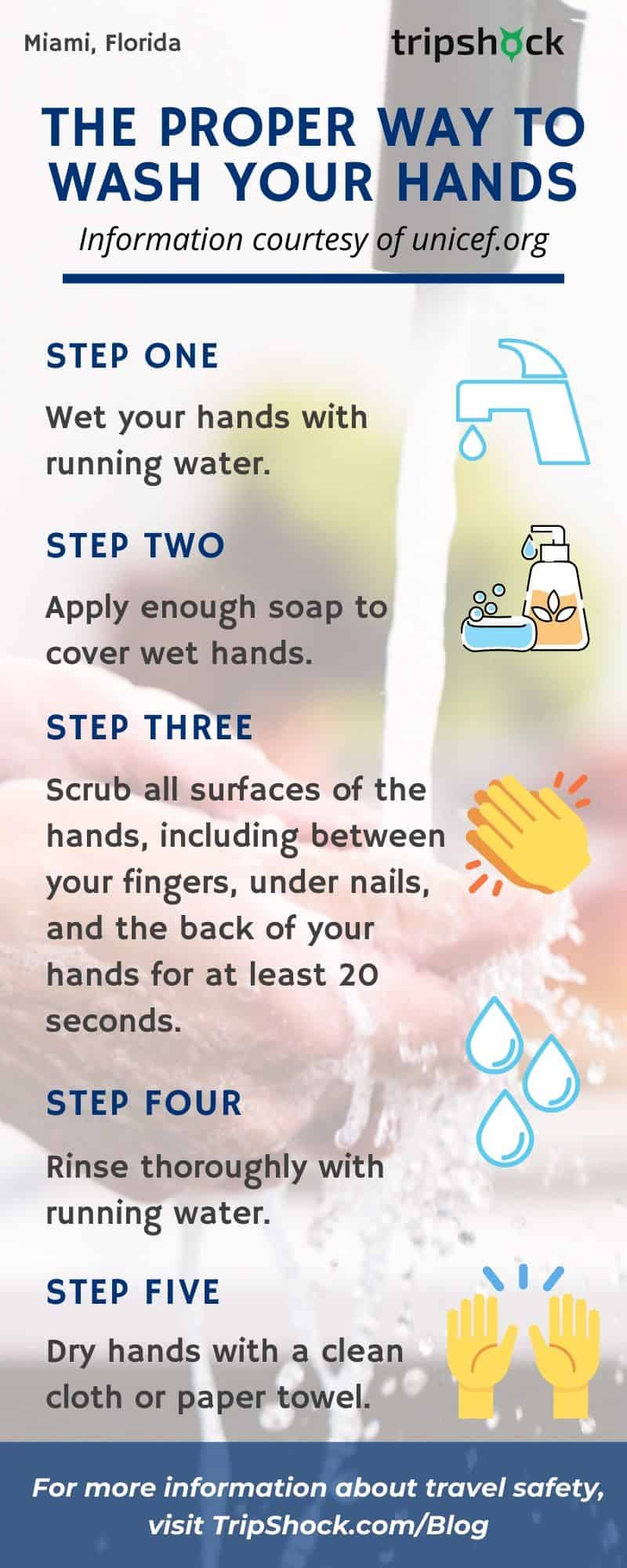 The Proper Way to Wash Your Hands