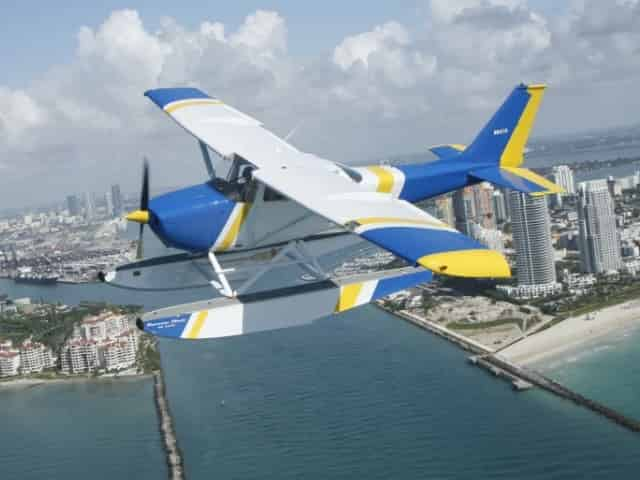 seaplane tour over miami florida