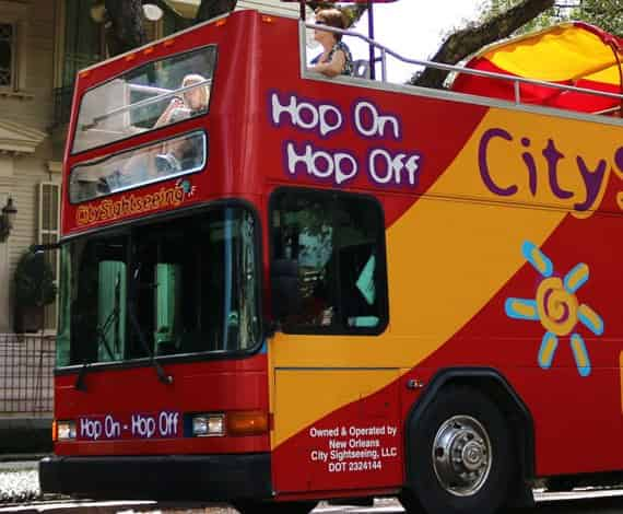 Hop On Hop Off New Orleans Bus Tour Coupons - City Sightseeing 2020