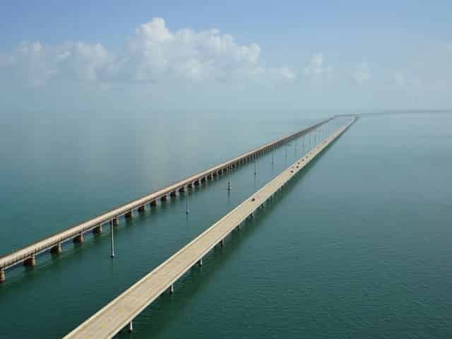 seven mile bridge from miami to key west