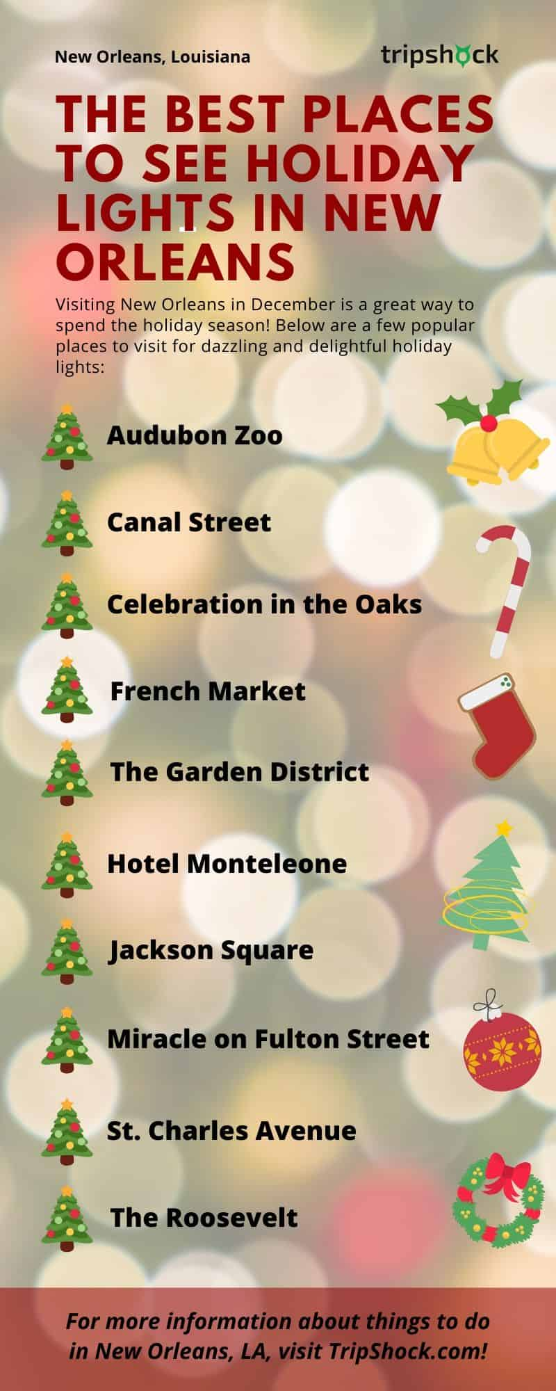 best places to see holiday lights in new orleans