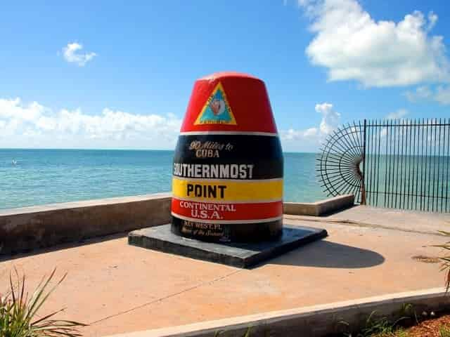the southernmost point in key west florida