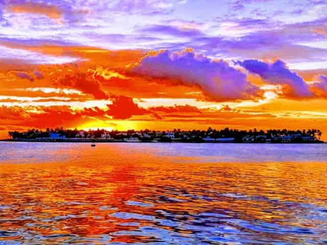 famous key west sunsets