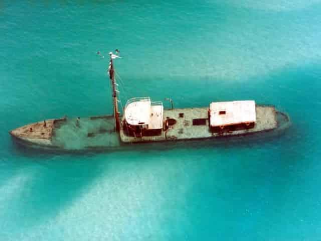 scuba diving shipwrecks in key west