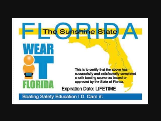 florida boating license