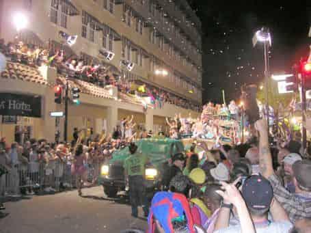 people celebrating key west fantasy fest