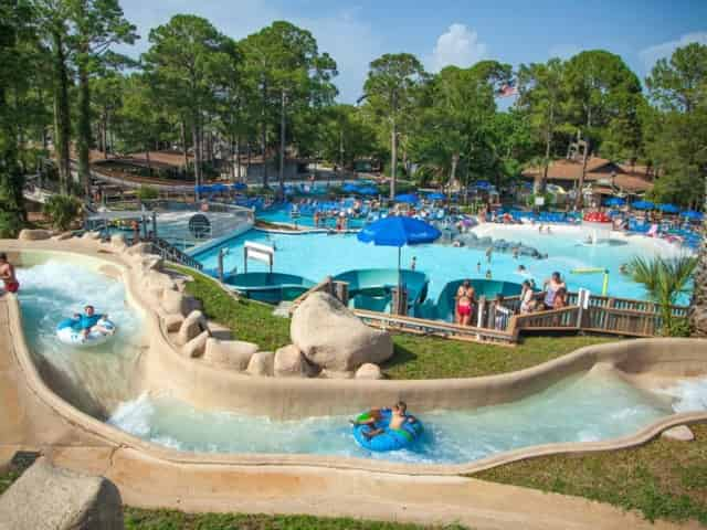 shipwreck island waterpark in panama city beach, fl