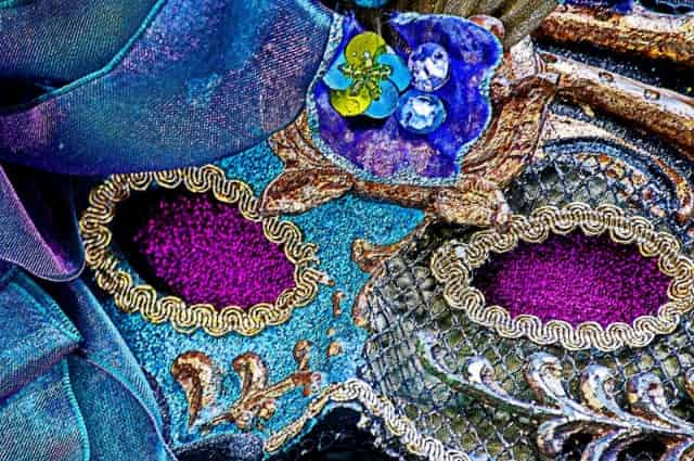new orleans mardi gras world mask