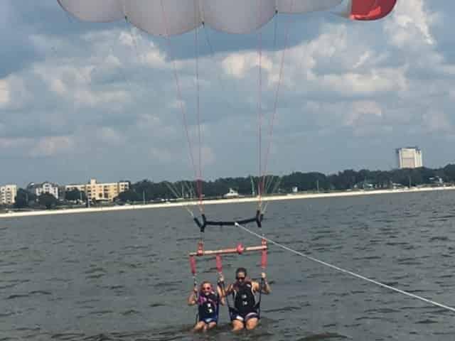 people parasailing in biloxi, ms