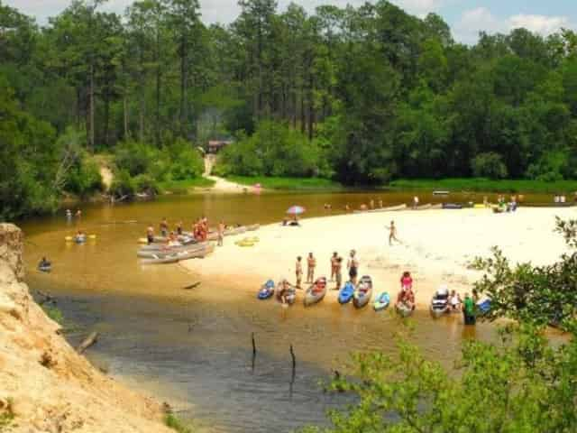 blackwater river in milton florida
