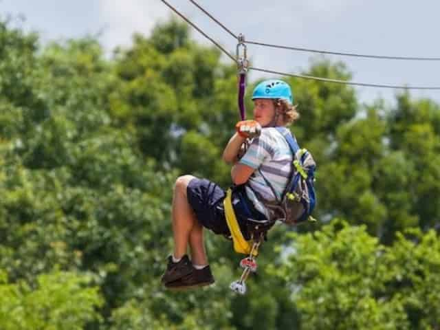 ziplining in milton florida