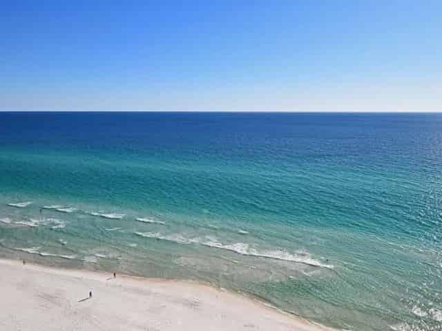 Schooners public beach in</p><p></p><p>panama city beach